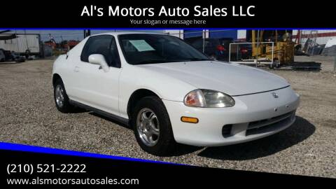 1996 Honda Civic del Sol for sale at Al's Motors Auto Sales LLC in San Antonio TX