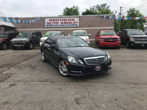 2012 Mercedes-Benz E-Class for sale at Brothers Auto Group in Youngstown OH
