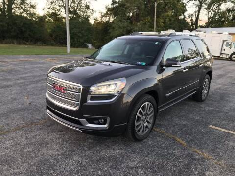 2014 GMC Acadia for sale at Jackie's Car Shop in Emigsville PA