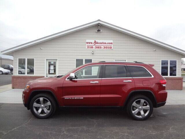 2014 Jeep Grand Cherokee for sale at GIBB'S 10 SALES LLC in New York Mills MN