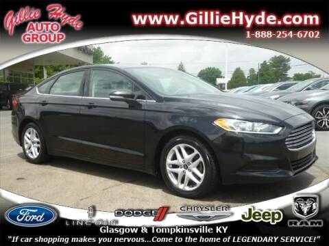 2014 Ford Fusion for sale at Gillie Hyde Auto Group in Glasgow KY