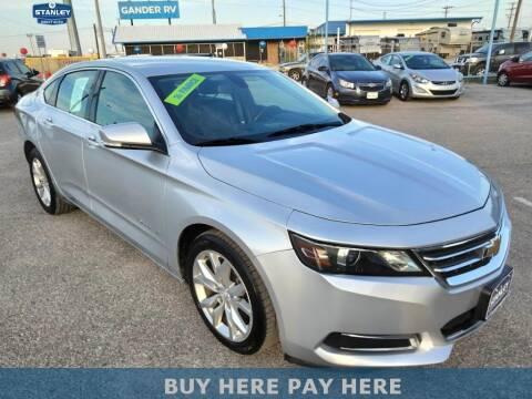 2016 Chevrolet Impala for sale at Stanley Automotive Finance Enterprise - STANLEY DIRECT AUTO in Mesquite TX