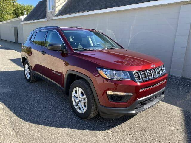 2020 Jeep Compass for sale at K&M Wayland Chrysler  Dodge Jeep Ram in Wayland MI