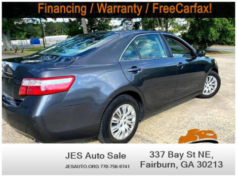 2008 Toyota Camry for sale at JES Auto Sales LLC in Fairburn GA