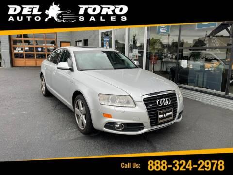 2011 Audi A6 for sale at DEL TORO AUTO SALES in Auburn WA