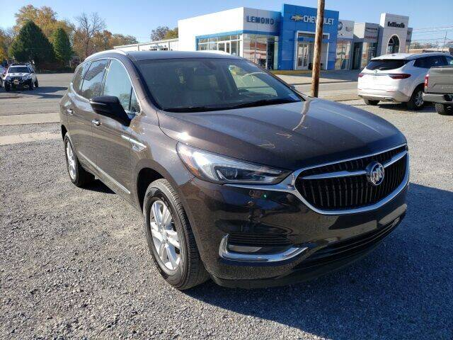 2018 Buick Enclave for sale at LeMond's Chevrolet Chrysler in Fairfield IL