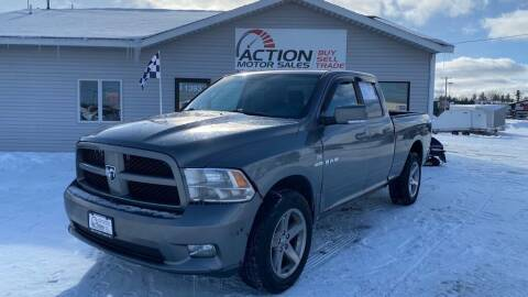 2009 Dodge Ram Pickup 1500 for sale at Action Motor Sales in Gaylord MI