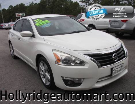 2015 Nissan Altima for sale at Holly Ridge Auto Mart in Holly Ridge NC