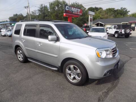 2013 Honda Pilot for sale at Comet Auto Sales in Manchester NH
