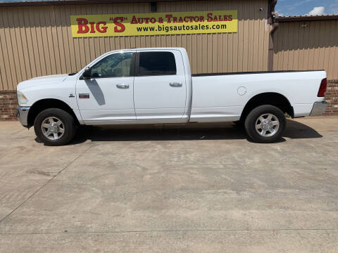 2010 Dodge Ram Pickup 2500 for sale at BIG 'S' AUTO & TRACTOR SALES in Blanchard OK