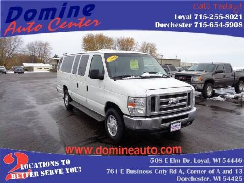 2014 Ford E-Series Wagon for sale at Domine Auto Center - commercial vehicles in Loyal WI