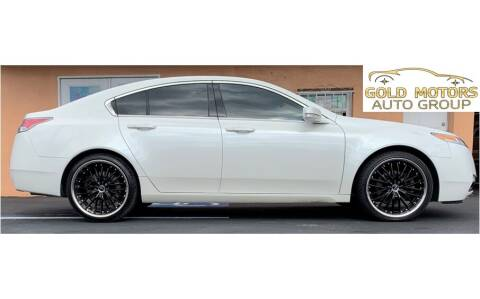 2009 Acura TL for sale at Gold Motors Auto Group Inc in Tampa FL
