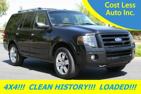 2010 Ford Expedition for sale at Cost Less Auto Inc. in Rocklin CA