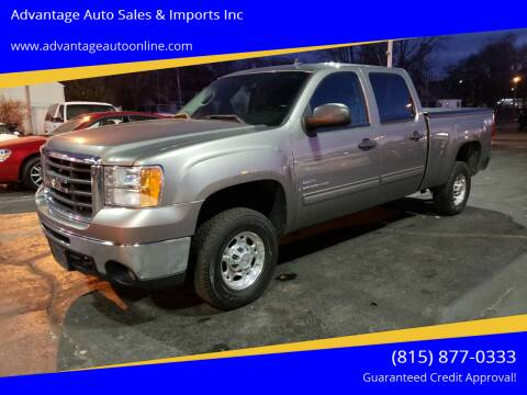 2008 GMC Sierra 2500HD for sale at Advantage Auto Sales & Imports Inc in Loves Park IL