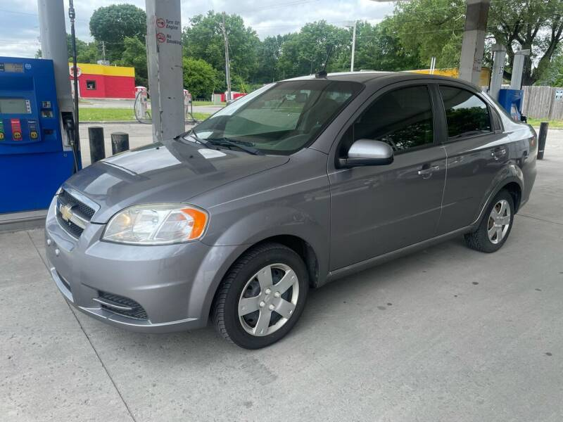 2011 Chevrolet Aveo for sale at JE Auto Sales LLC in Indianapolis IN