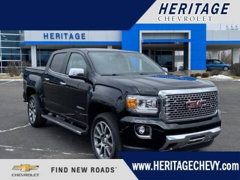 2017 GMC Canyon for sale at HERITAGE CHEVROLET INC in Creek MI
