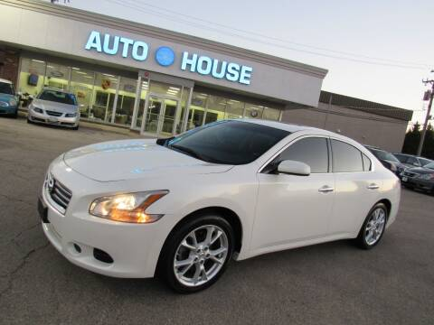 2012 Nissan Maxima for sale at Auto House Motors in Downers Grove IL