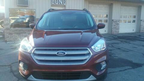 2018 Ford Escape for sale at Long Motor Sales in Tecumseh MI
