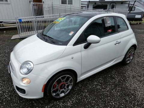 2012 FIAT 500 for sale at Kiefer Nissan Budget Lot in Albany OR