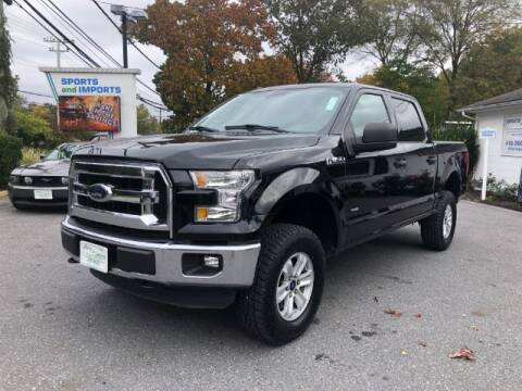2016 Ford F-150 for sale at Sports & Imports in Pasadena MD