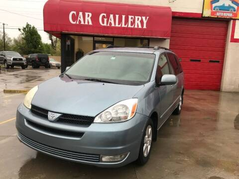 2005 Toyota Sienna for sale at Car Gallery in Oklahoma City OK
