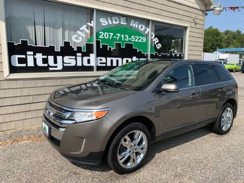 2013 Ford Edge for sale at CITY SIDE MOTORS in Auburn ME