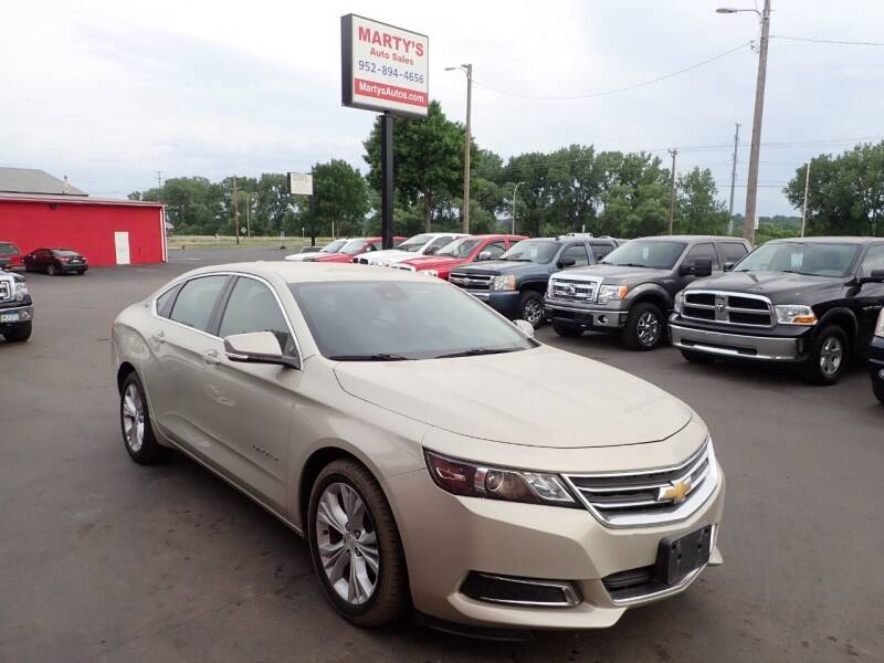 2015 Chevrolet Impala for sale at Marty's Auto Sales in Savage MN