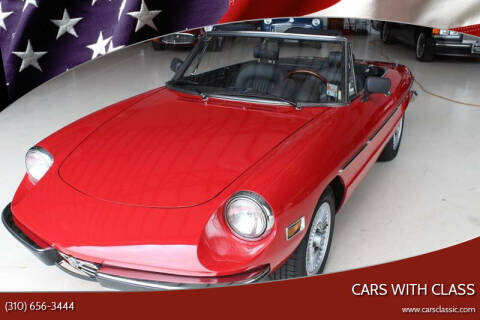 1971 Alfa Romeo Spider for sale at CARS WITH CLASS in Santa Monica CA