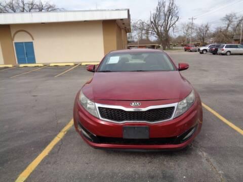 2013 Kia Optima for sale at AUTO PRO in Oklahoma City OK