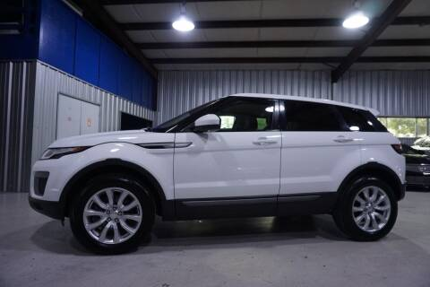 2016 Land Rover Range Rover Evoque for sale at SOUTHWEST AUTO CENTER INC in Houston TX