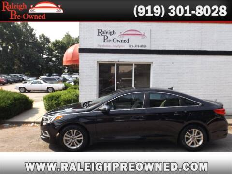 2016 Hyundai Sonata for sale at Raleigh Pre-Owned in Raleigh NC