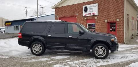 2012 Ford Expedition EL for sale at DANVILLE AUTO SALES in Danville IN