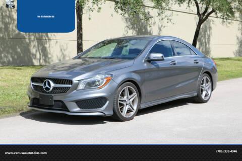 2014 Mercedes-Benz CLA for sale at Ven-Usa Autosales Inc in Miami FL