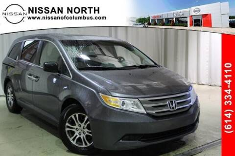 2011 Honda Odyssey for sale at Auto Center of Columbus in Columbus OH