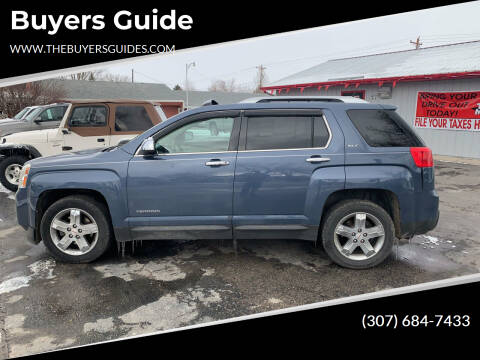 2012 GMC Terrain for sale at Buyers Guide in Buffalo WY