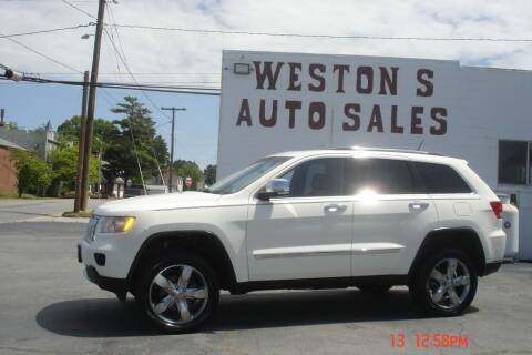 2012 Jeep Grand Cherokee for sale at Weston's Auto Sales, Inc in Crewe VA