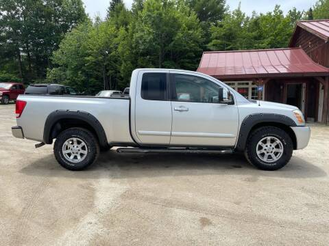 2004 Nissan Titan for sale at Hart's Classics Inc in Oxford ME