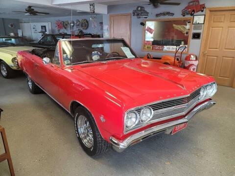 1965 Chevrolet Chevelle for sale at CRUZ'N MOTORS - Classics in Spirit Lake IA