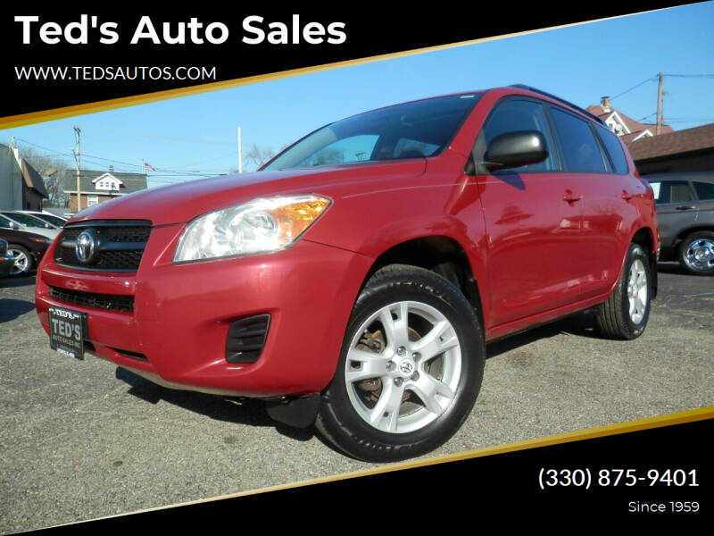 2012 Toyota RAV4 for sale at Ted's Auto Sales in Louisville OH