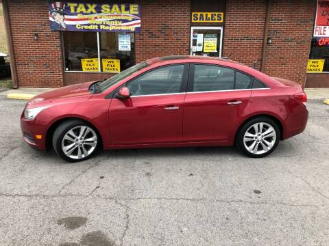2011 Chevrolet Cruze for sale at Atlas Cars Inc. in Radcliff KY
