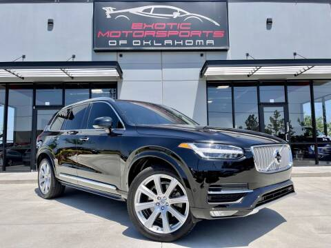 2018 Volvo XC90 for sale at Exotic Motorsports of Oklahoma in Edmond OK
