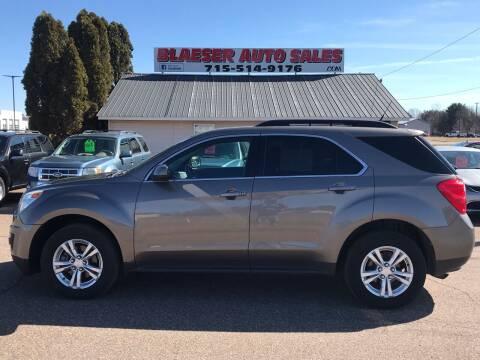 2011 Chevrolet Equinox for sale at BLAESER AUTO LLC in Chippewa Falls WI