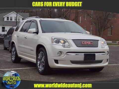 2012 GMC Acadia for sale at Worldwide Auto in Hamilton NJ