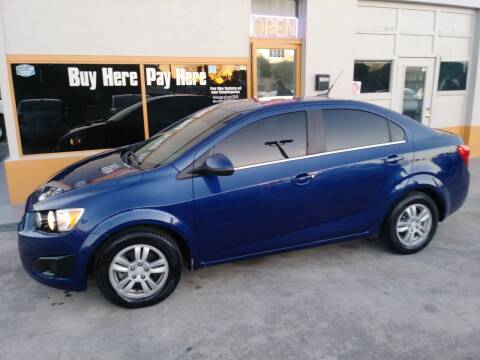 2014 Chevrolet Sonic for sale at QUALITY AUTO SALES OF FLORIDA in New Port Richey FL