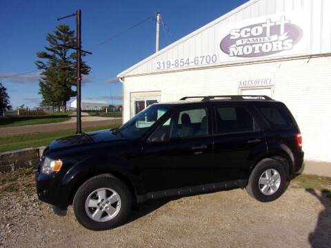 2012 Ford Escape for sale at SCOTT FAMILY MOTORS in Springville IA