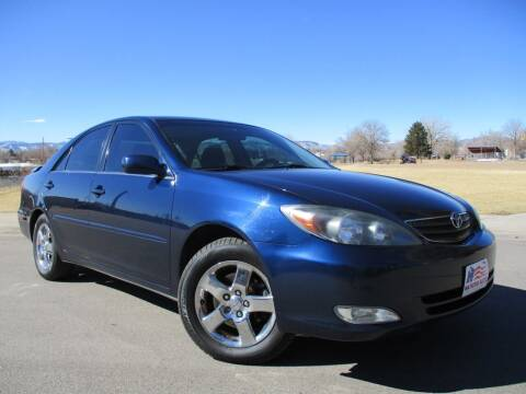 2003 Toyota Camry for sale at Nations Auto in Lakewood CO