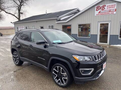 2018 Jeep Compass for sale at B & B Auto Sales in Brookings SD