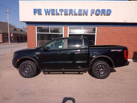 2021 Ford Ranger for sale at Welterlen Motors in Edgewood IA