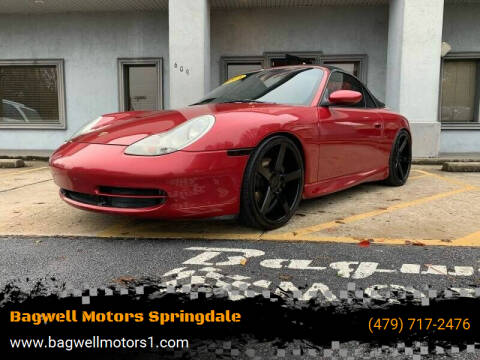 2001 Porsche 911 for sale at Bagwell Motors Springdale in Springdale AR