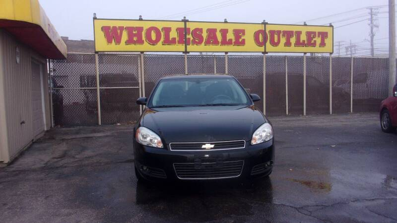 2011 Chevrolet Impala for sale at LONG BROTHERS CAR COMPANY in Cleveland OH